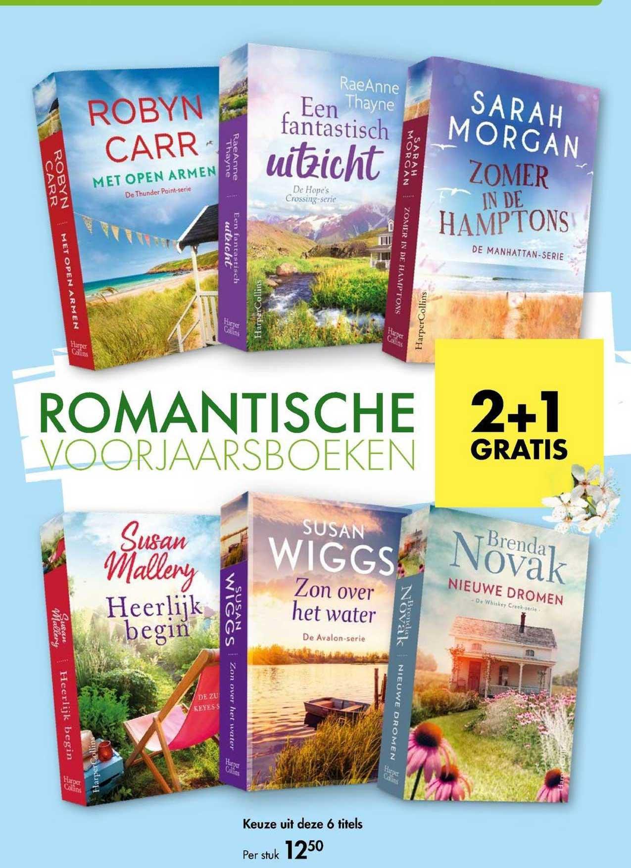 The Read Shop Romantische Voorjaarsboeken 2+1 Gratis