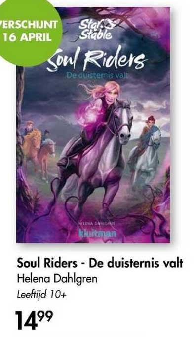 The Read Shop Soul Riders - De Duisternis Valt - Helena Dahlgren