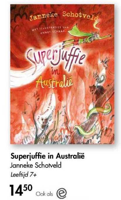 The Read Shop Superjuffie In Australië - Janneke Schotveld