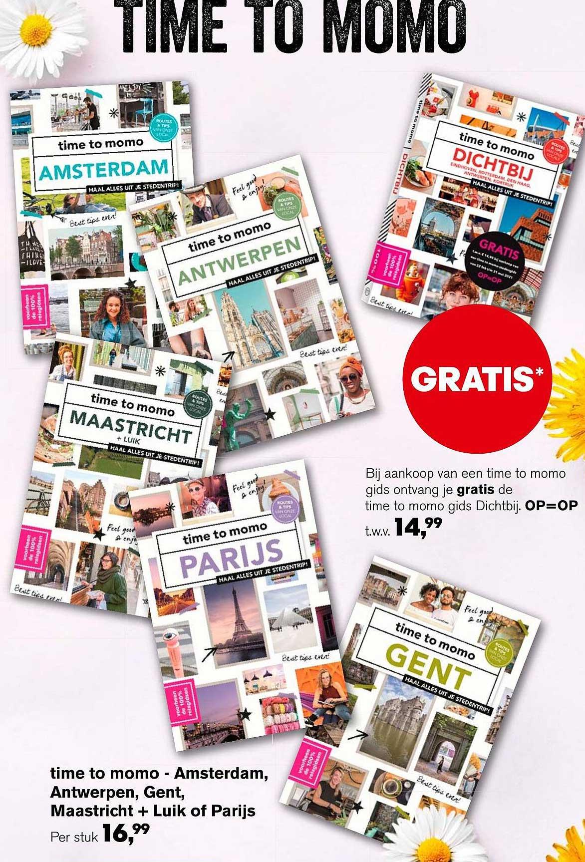 AKO Time To Momo - Amsterdam, Antwerpen, Gent, Maastricht + Luik Of Parijs