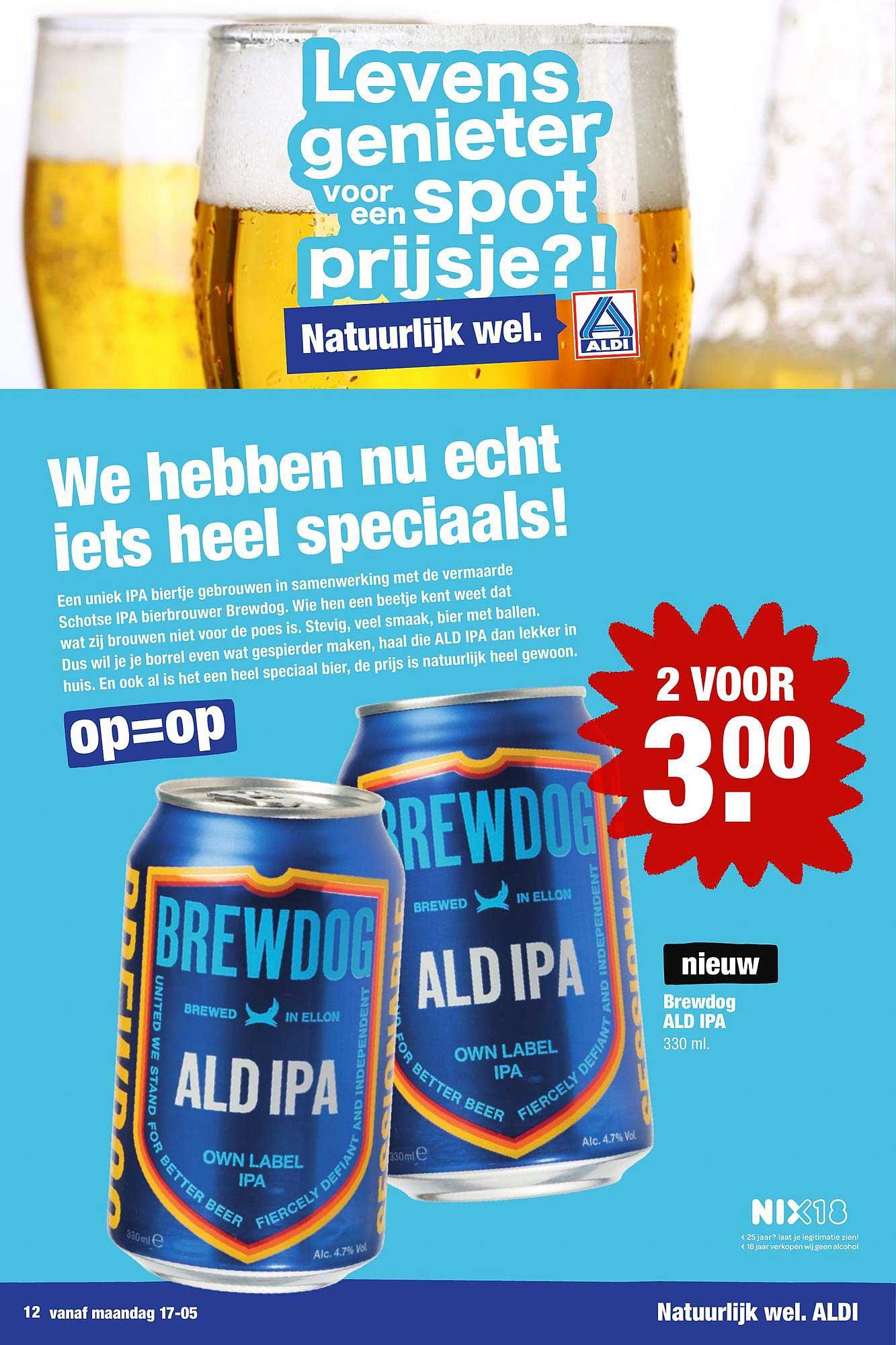 ALDI Brewdog ALD IPA