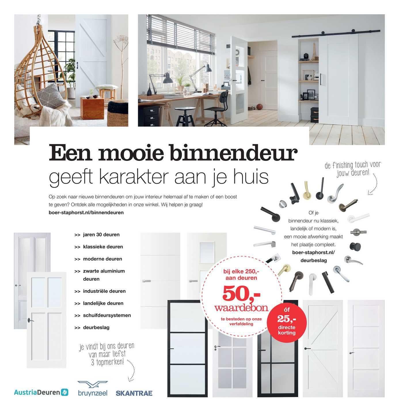 Boer Staphorst Een Mooie Binnendeur