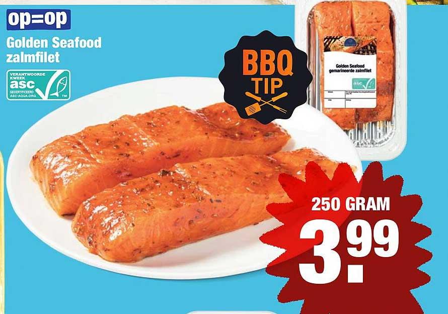 ALDI Golden Seafood Zalmfilet
