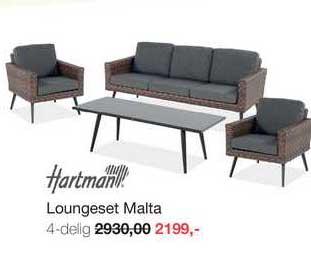Boer Staphorst Hartman Loungeset Malta