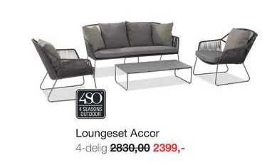 Boer Staphorst Loungeset Accor