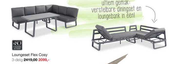 Boer Staphorst Loungeset Flex Cosy