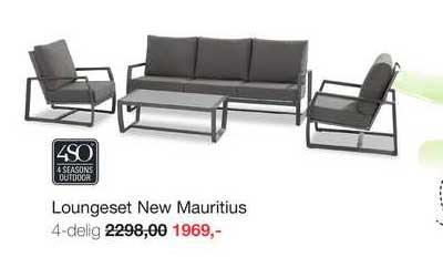 Boer Staphorst Loungeset New Mauritius