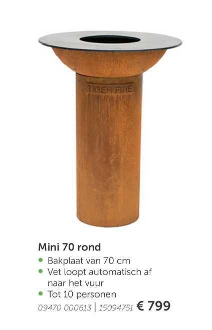 Aveve Mini 70 Rond