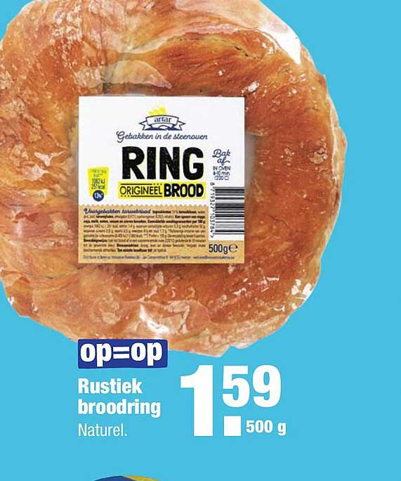 ALDI Rustiek Broodring