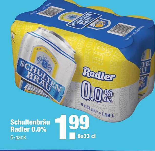ALDI Schultenbräu Radler 0.0%