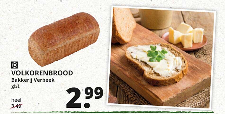 Natuurwinkel Volkorenbrood Bakkerij Verbeek