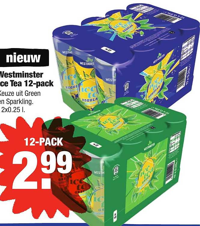 ALDI Westminster Ice Tea 12-Pack