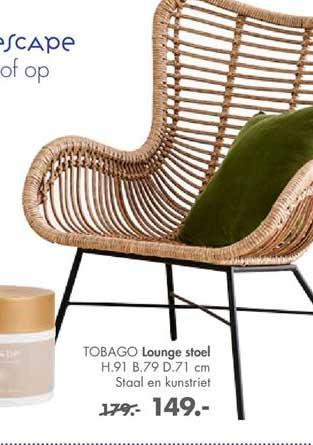 CASA Tobago Lounge Stoel