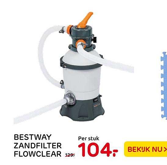 Praxis Bestway Zandfilter Flowclear