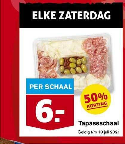Hoogvliet Tapassschaal 50% Korting