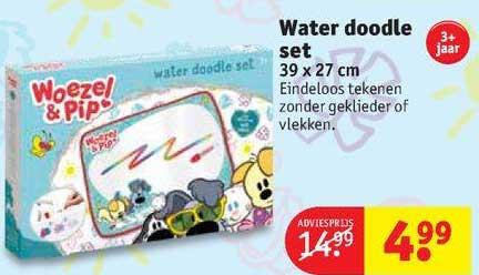 Kruidvat Water Doodle Set 39 X 27 Cm
