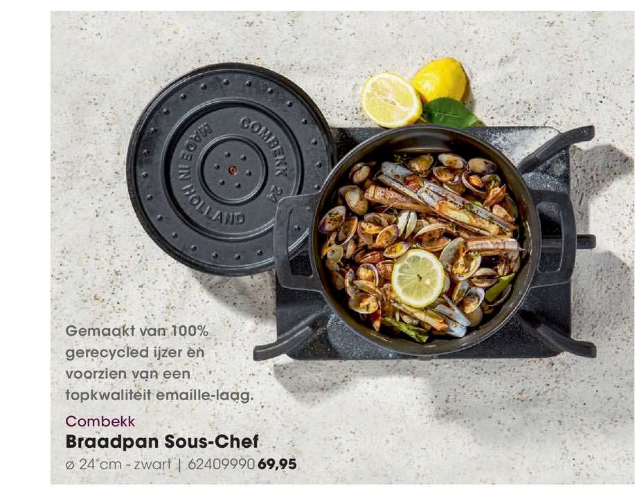 HANOS Combekk Braadpan Sous-Chef