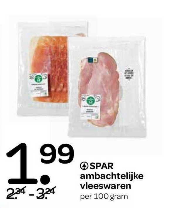 Spar Spar Ambachtelijke Vleeswaren