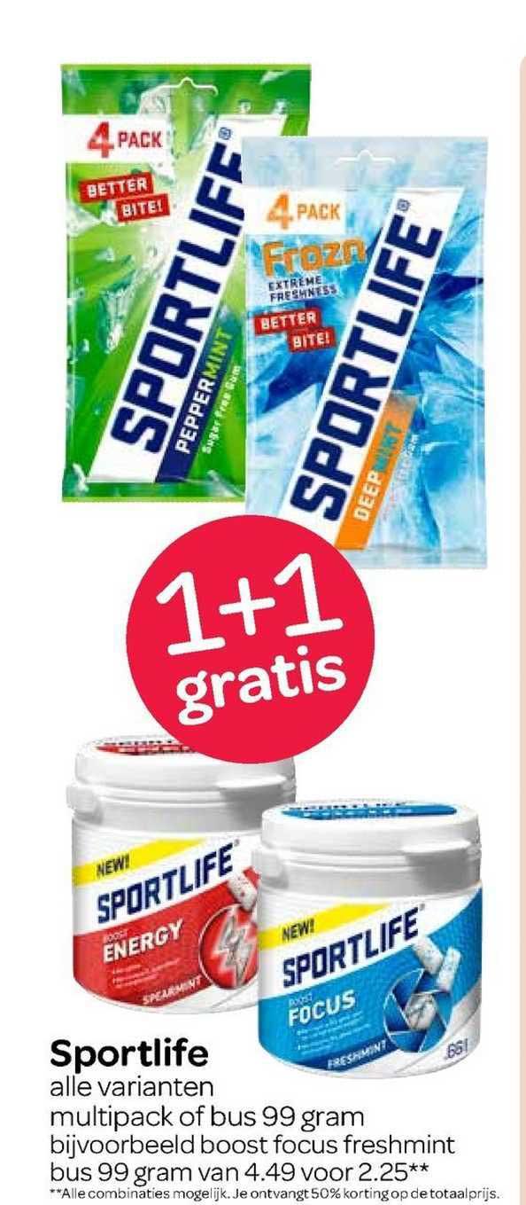 Spar Sportlife 1+1 Gratis