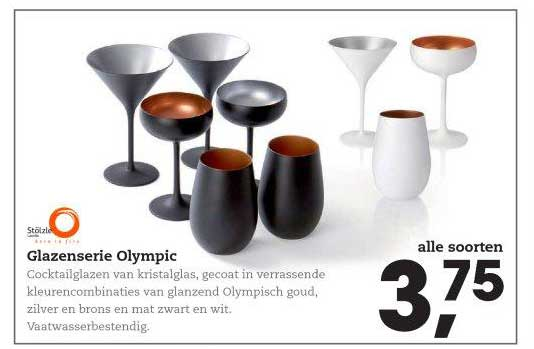 HANOS Glazenserie Olympic