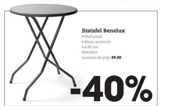 HANOS Statafel Benelux