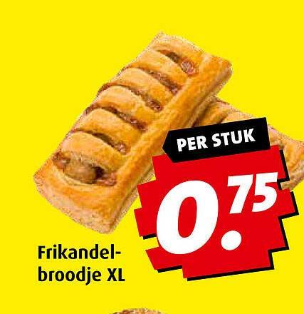 Boni Frikandelbroodje XL