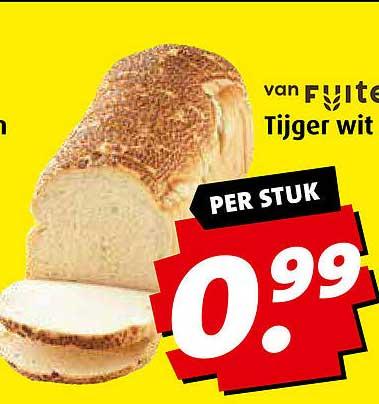 Boni Tijger Wit