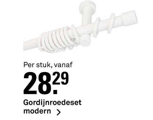 Karwei Gordijnroedeset Modern