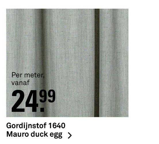 Karwei Gordijnstof 1640 Mauro Duck Egg