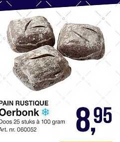 Bidfood Pain Rustique Oerbonk