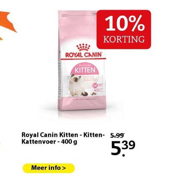 Boerenbond Royal Canin Kitten - Kitten - Kattenvoer - 400 G 10% Korting