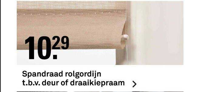 Karwei Spandraad Rolgordijn