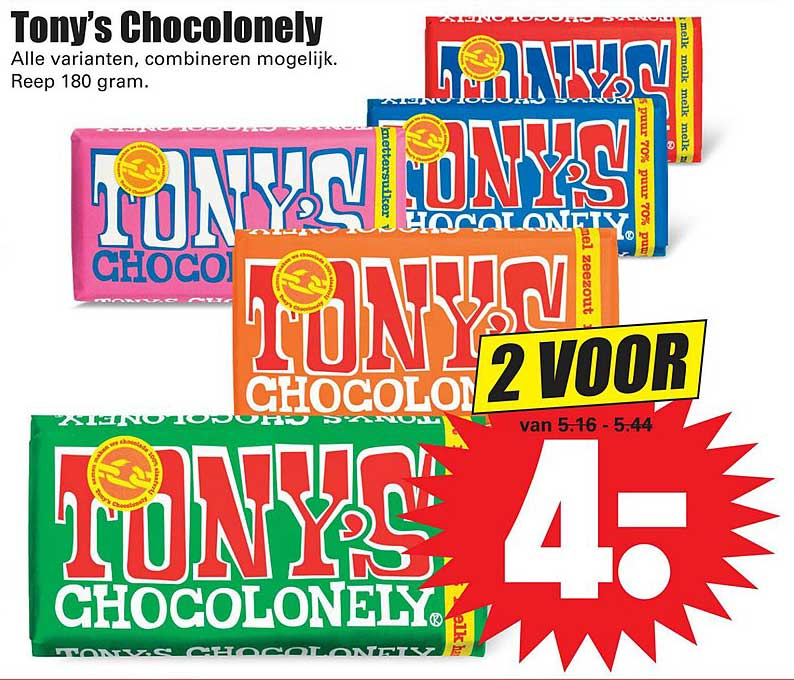 Dirk Tony's Chocolonely