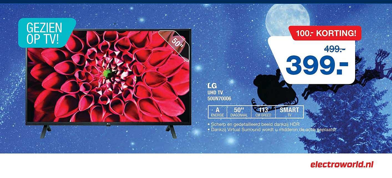 Electro World LG UHD TV 50UN70006