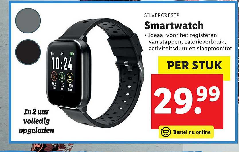 Lidl Shop Silvercrest Smartwatch