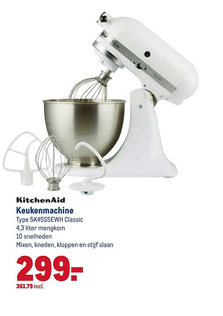 Makro Kitchenaid Keukenmachine