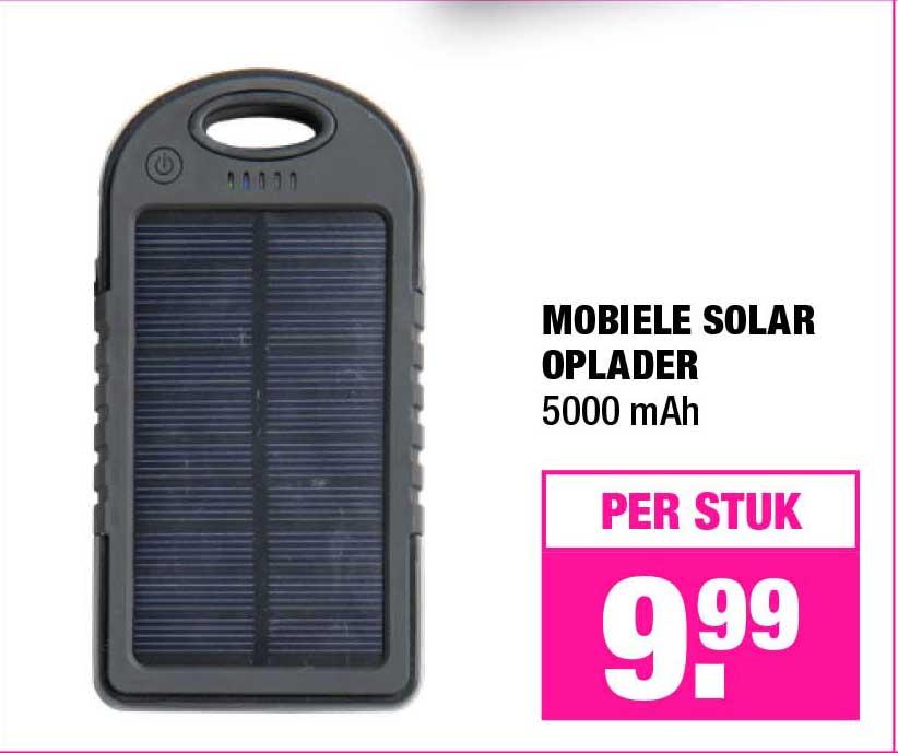Solar Oplader Aanbieding bij Xenos