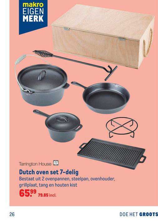 Makro Tarrington House Dutch Oven Set 7-Delig