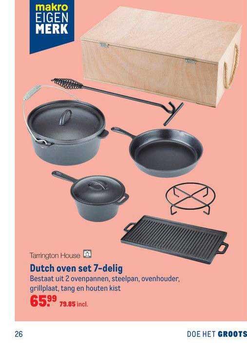 Makro Tarrington House Dutch Oven Set 7-Delig