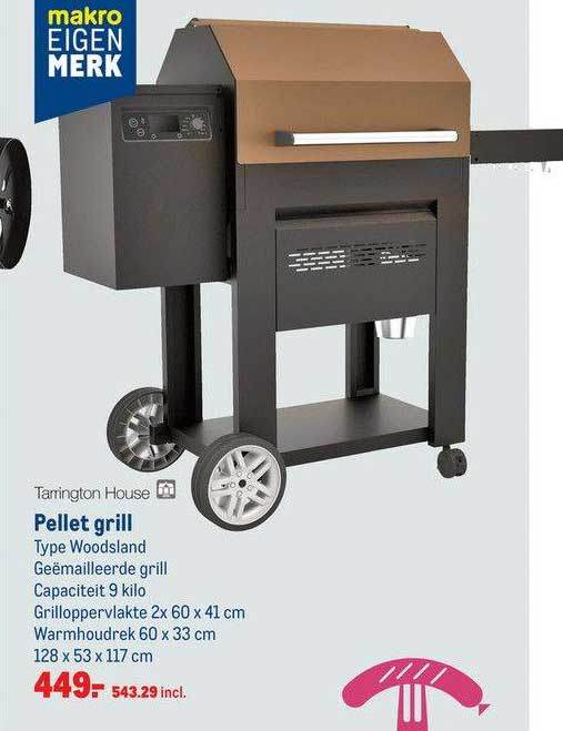 Makro Tarrington House Pellet Grill Woodsland
