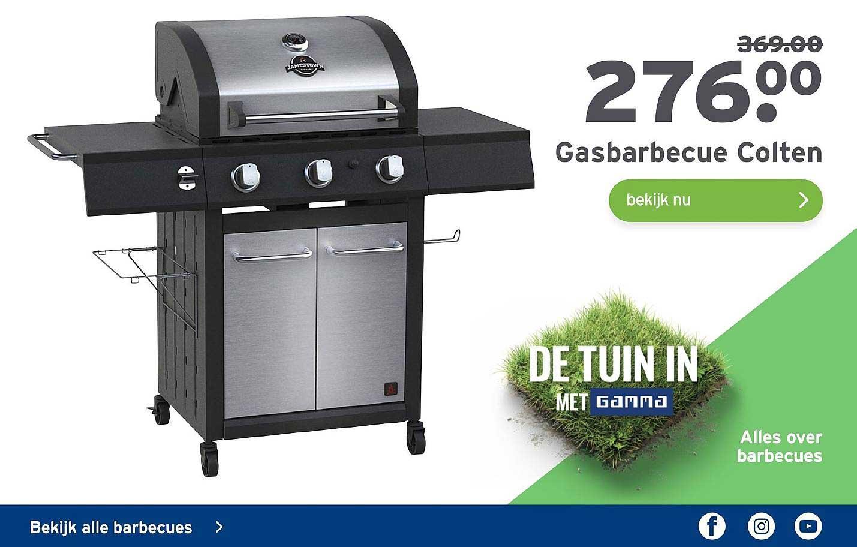 Gasbarbecue Colten 4 Brander Aanbieding bij Gamma