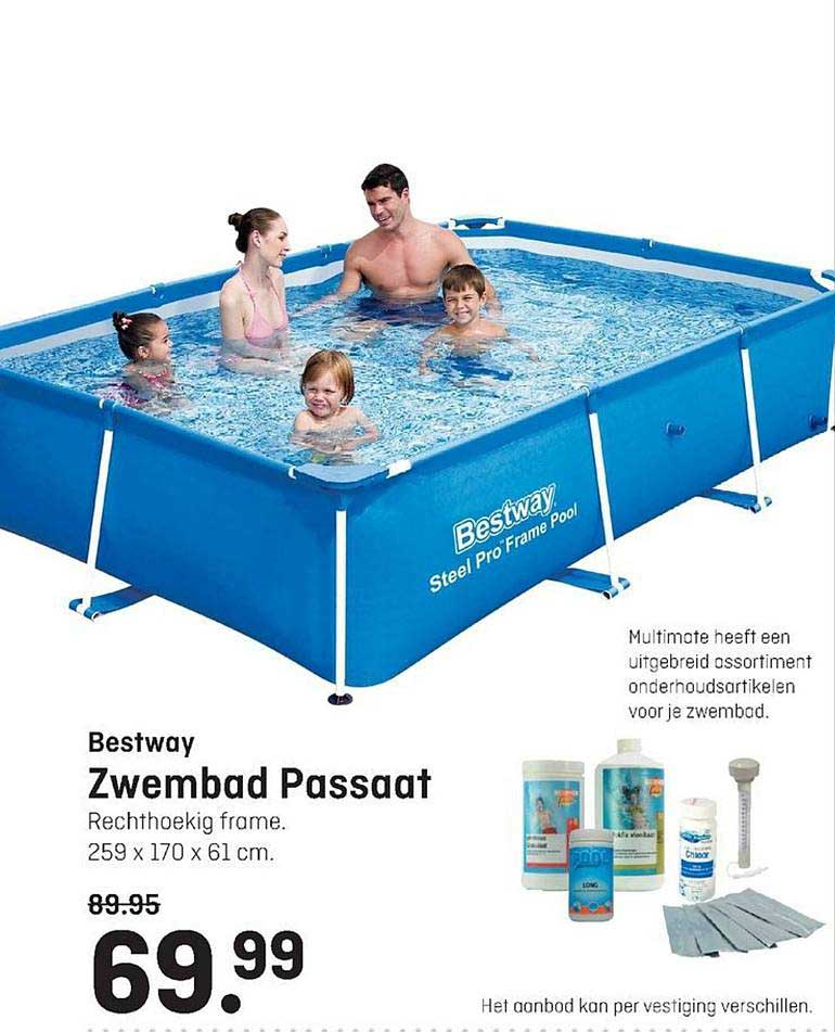 Multimate Bestway Zwembad Passaat