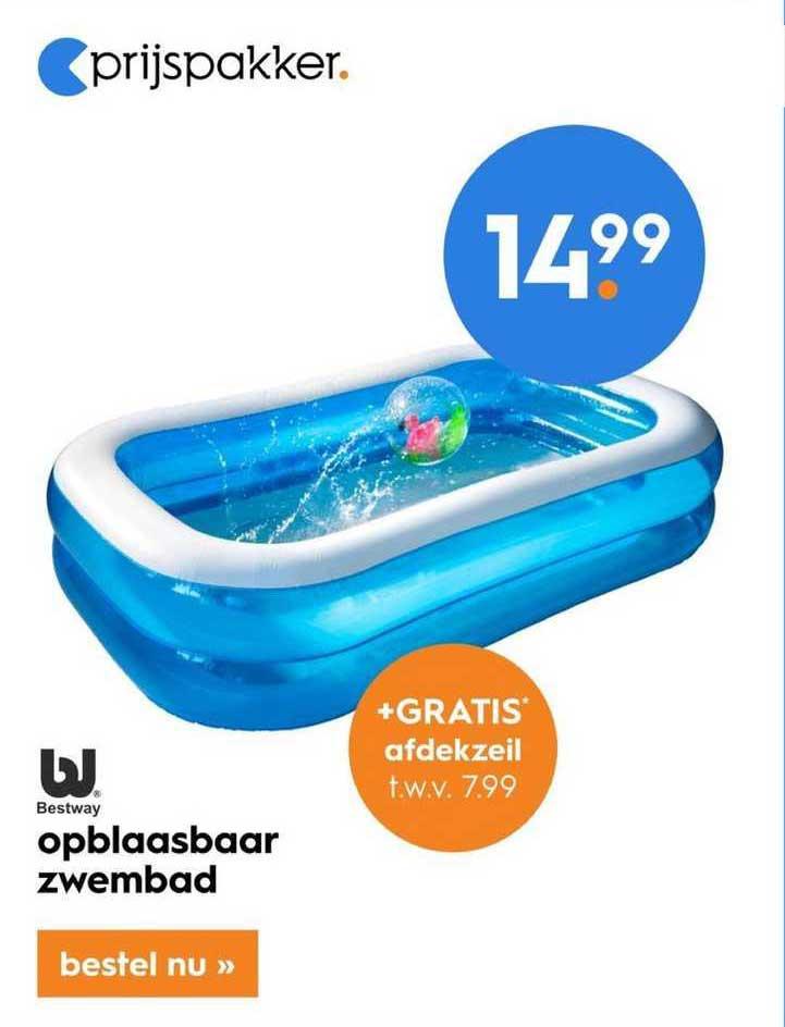 Blokker Bestway Opblaasbaar Zwembad