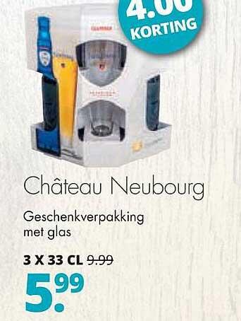Mitra Château Neubourg Geschenkverpakking 4.00 Korting
