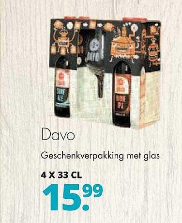 Mitra Davo Geschenkverpakking Met Glas