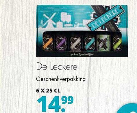 Mitra De Leckere Geschenkverpakking