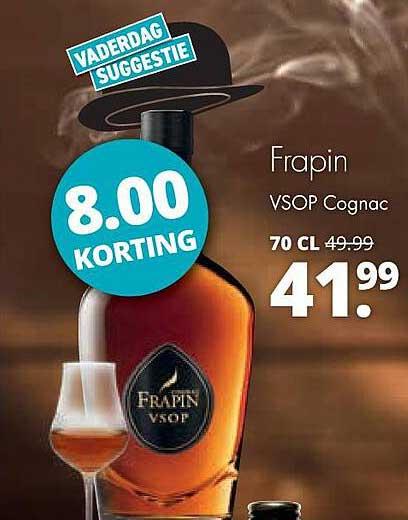 Mitra Frapin VSOP Cognac 8.00 Korting