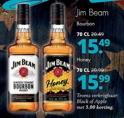 Mitra Jim Beam Bourbon Of Honey
