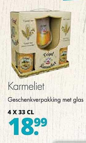 Mitra Karmeliet Geschenkverpakking Met Glas