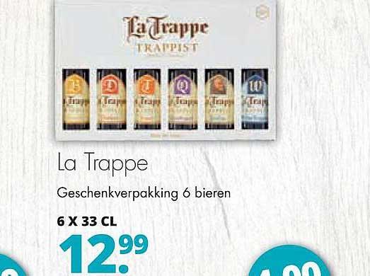 Mitra La Trappe Geschenkverpakking 6 Bieren